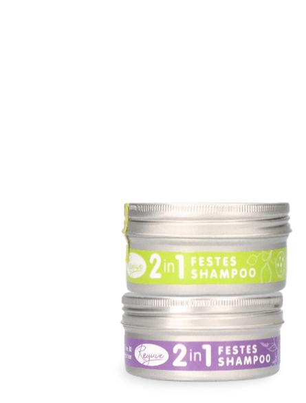 Reyuve Naturkosmetik Festes Shampoo natürlich Lavendel Zitronengras