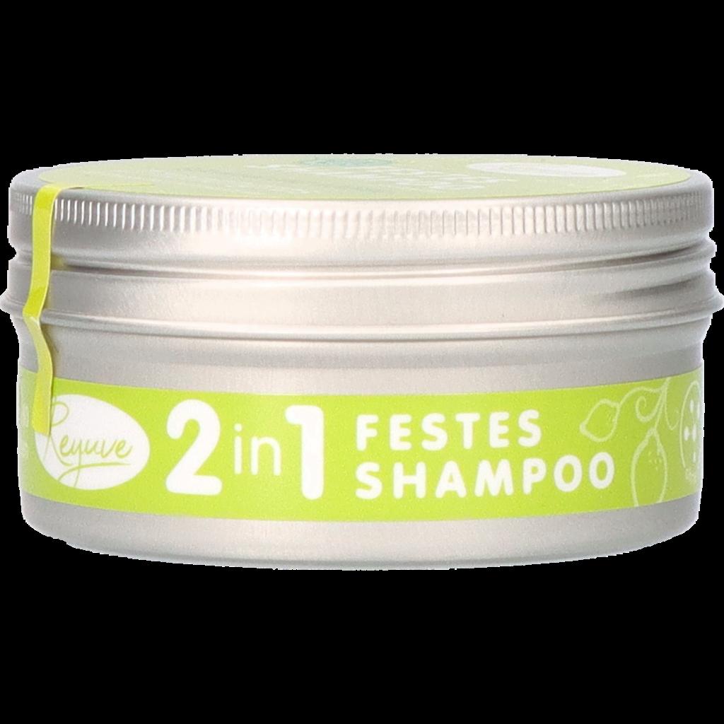 Reyuve Naturkosmetik Festes Shampoo Zitronengras