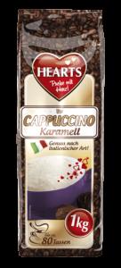 HEARTS, Cappuccino, Karamell, Instant, italienischer Genuss