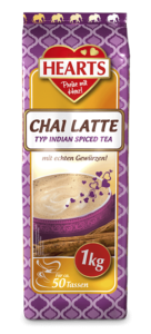 HEARTS, Chai Latte, Instant, Zimt, Gewürze