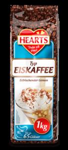 HEARTS, Eiskaffee, Ice Coffee, Instant