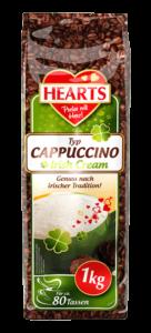 HEARTS, Cappuccino, Irish Cream, Instant, irischer Genuss
