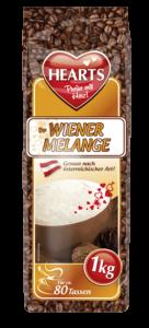 HEARTS, Cappuccino, Wiener Melange, Instant, österreichischer Genuss