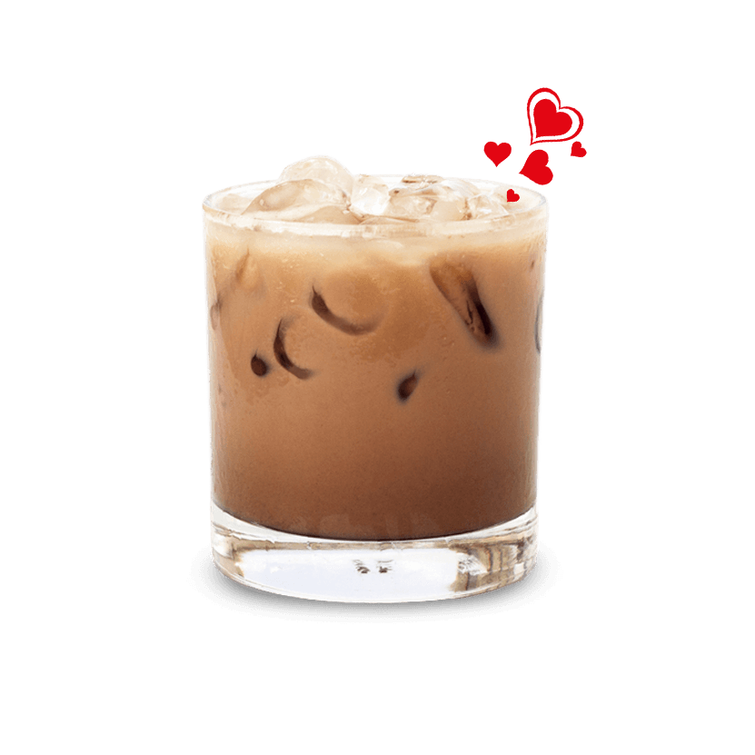HEARTS, Eiskaffee, Ice Coffee, Kaltgetränk, Instant