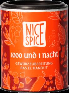 Nice Spice 1000 und 1 Nacht Ras el Hanout Gewürz Gewürzmischung Kräuter
