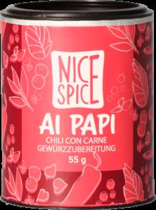 Nice Spice Ai Papi Chili con Carne Gewürz Gewürzmischung Kräuter