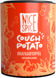 Nice Spice Couch Potato Gewürzmischung Kartoffeln
